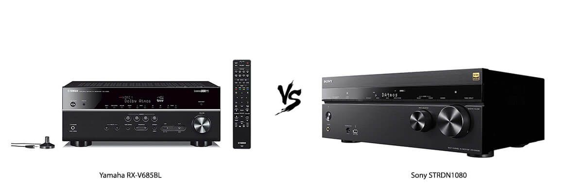 Yamaha RX-V685BL vs Sony STRDN1080