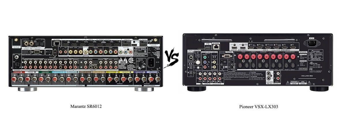 Pioneer VSX-LX303 vs Marantz SR6012