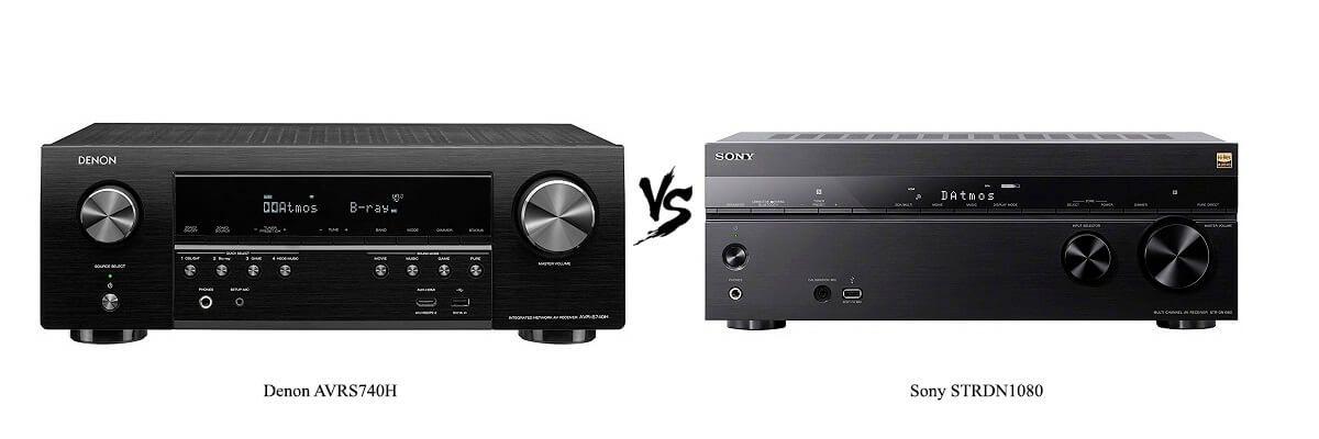 Denon AVRS740H vs Sony STRDN1080