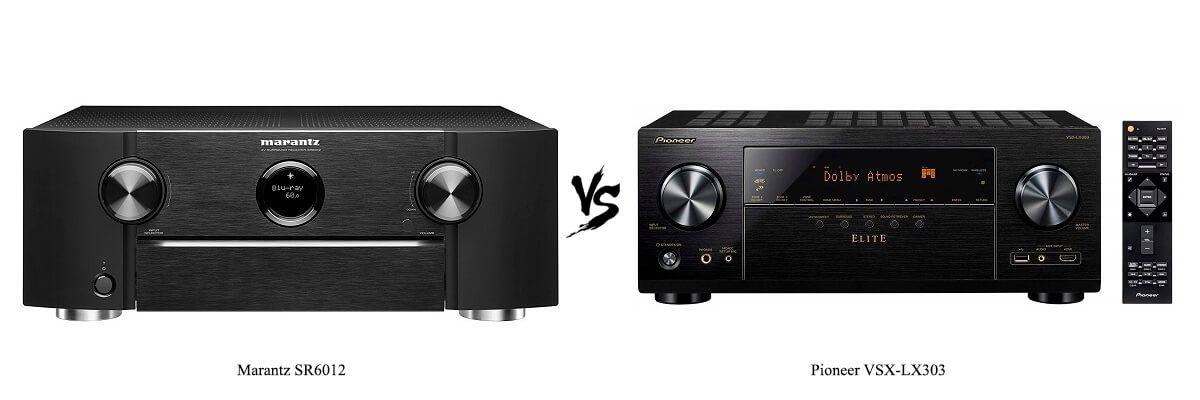Marantz SR6012 vs Pioneer VSX-LX303