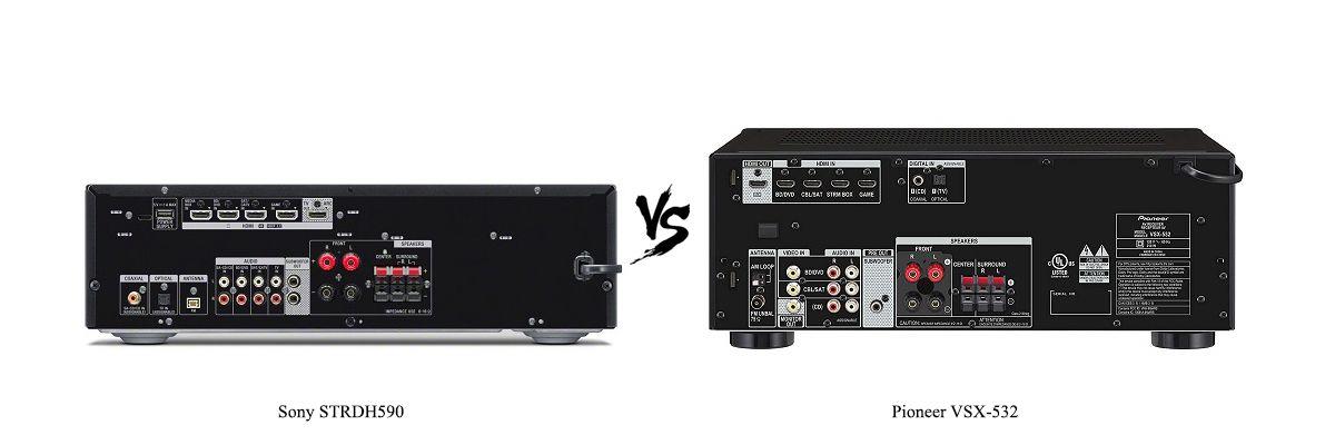 Pioneer VSX-532 vs Sony STRDH590
