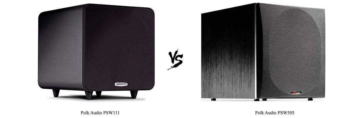 Polk Audio PSW111 vs Polk Audio PSW505