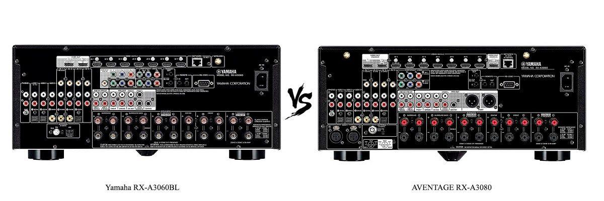 Yamaha AVENTAGE RX-A3080 vs RX-A3060BL