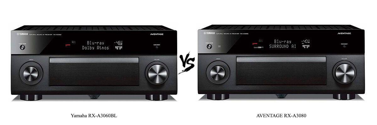 Yamaha RX-A3060BL vs Yamaha AVENTAGE RX-A3080
