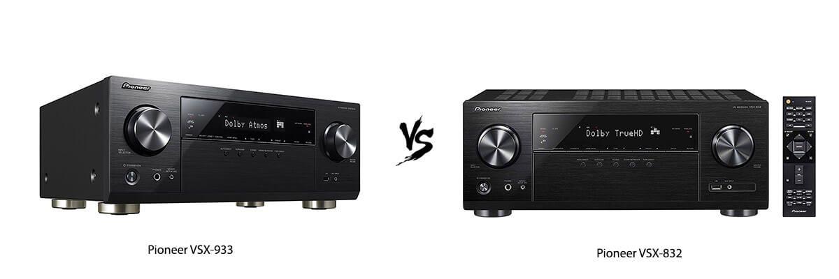 Pioneer VSX-933 vs Pioneer VSX-832