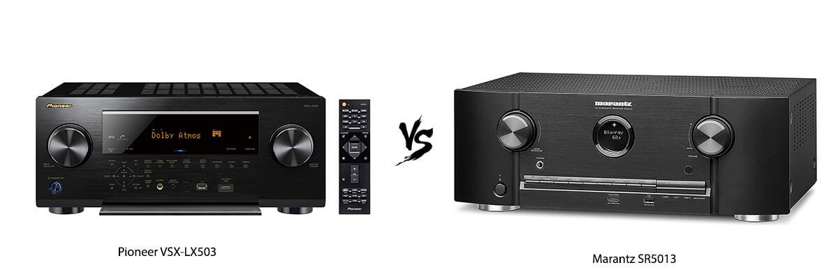 Pioneer VSX-LX503 vs Marantz SR5013