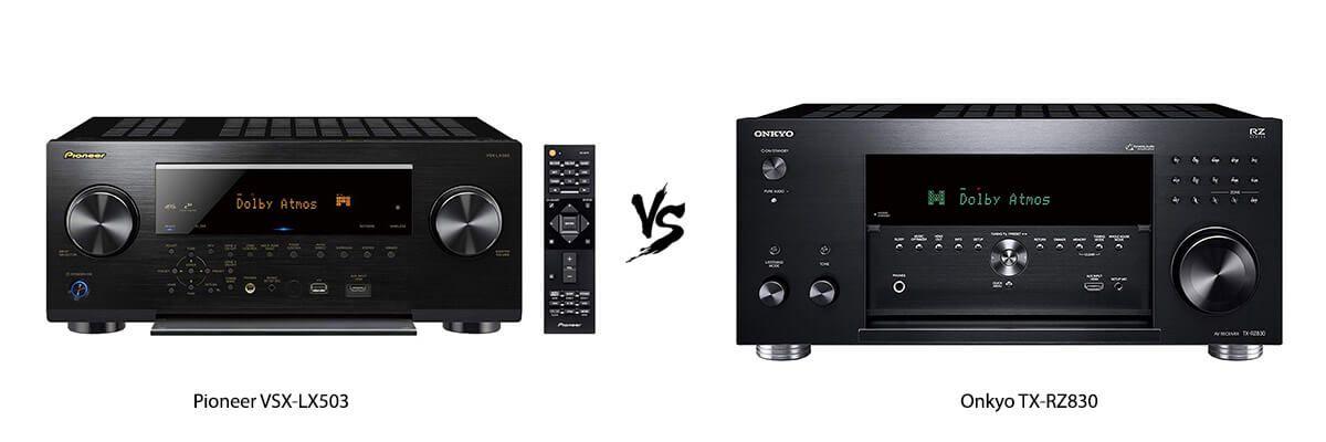Pioneer VSX-LX503 vs Onkyo TX-RZ830