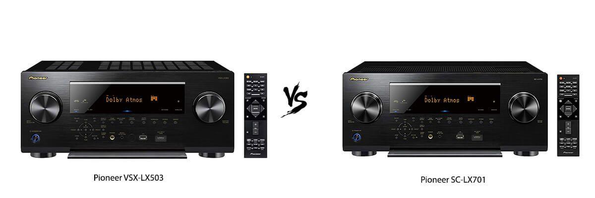 Pioneer VSX-LX503 vs Pioneer SC-LX701