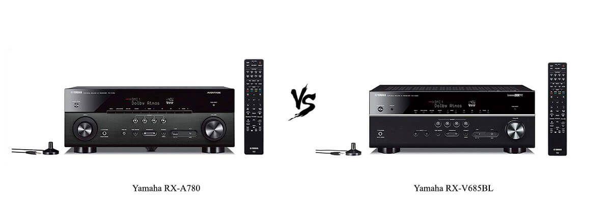 Yamaha RX-A780 vs Yamaha RX-V685BL