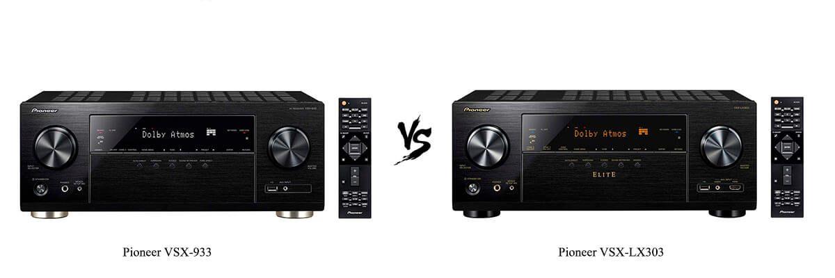 Pioneer VSX-933 vs Pioneer VSX-LX303