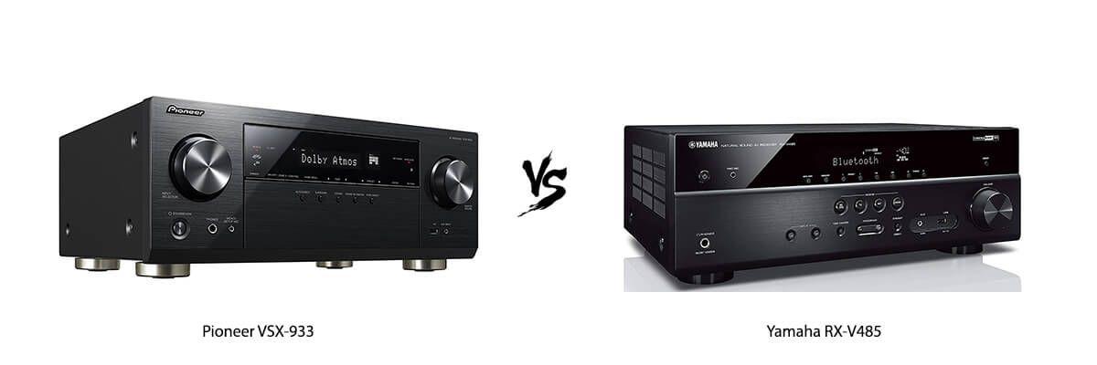 Pioneer VSX-933 vs Yamaha RX-V485