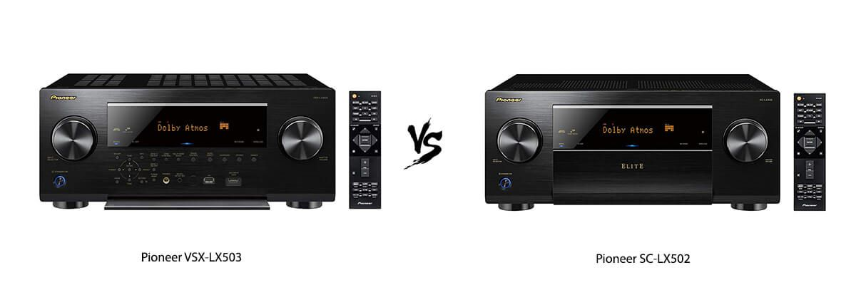 Pioneer VSX-LX503 vs Pioneer SC-LX502