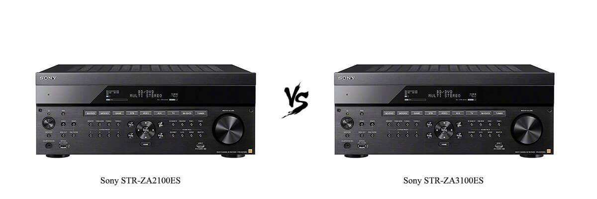 Sony STR-ZA2100ES vs Sony STR-ZA3100ES