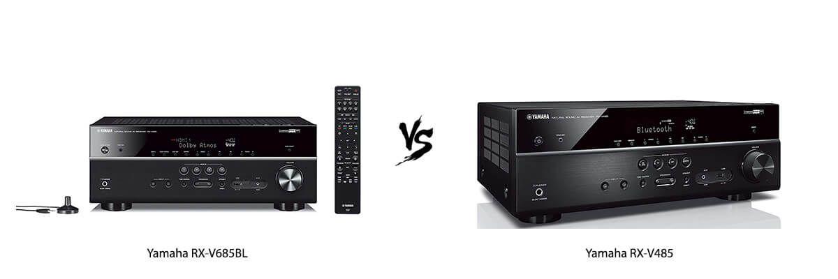 Yamaha RX-V685BL vs Yamaha RX-V485
