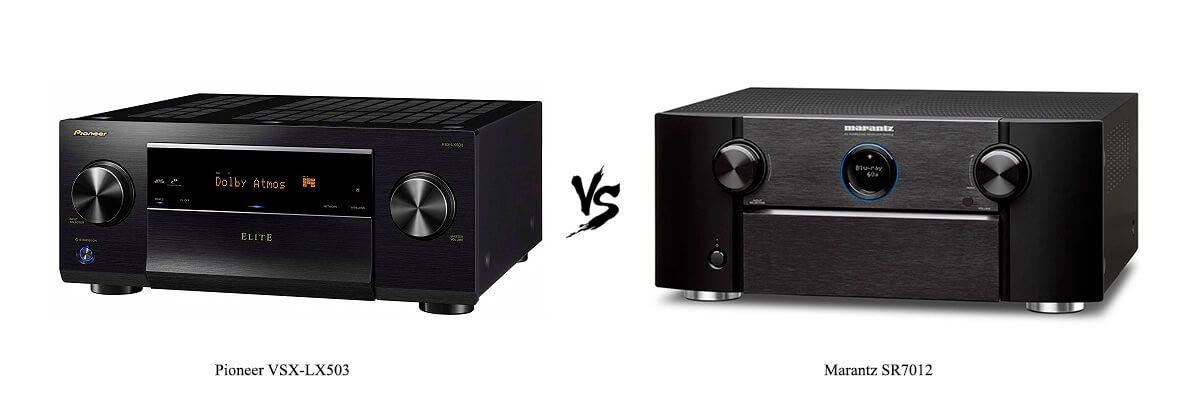 Pioneer VSX-LX503 vs Marantz-SR7012