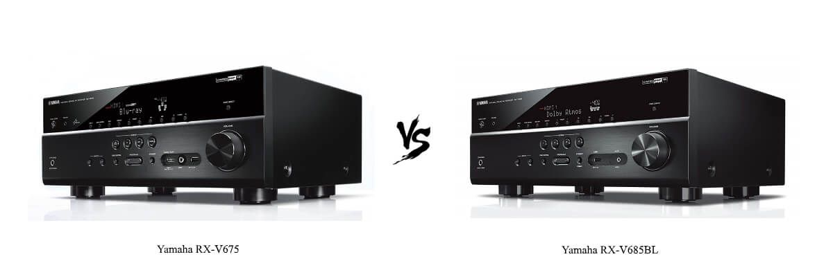 Yamaha RX-V675 vs Yamaha RX-V685BL