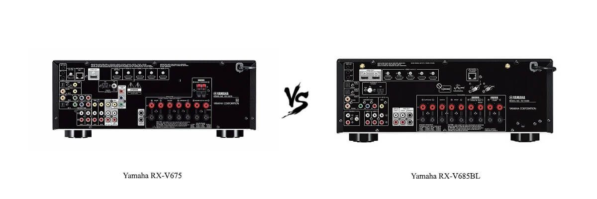 Yamaha RX-V685BL vs Yamaha RX-V675