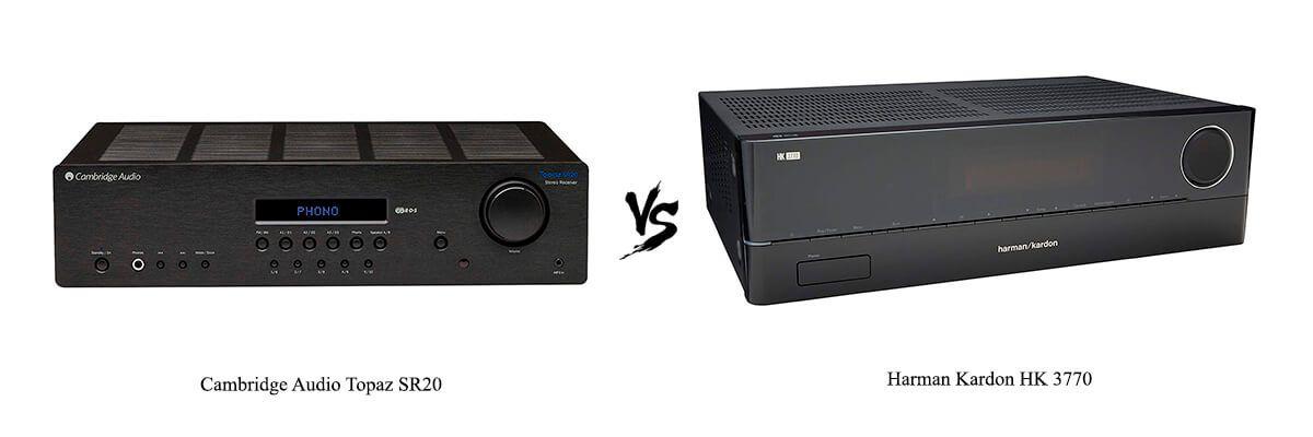 Cambridge Audio Topaz SR20 vs Harman Kardon HK 3770