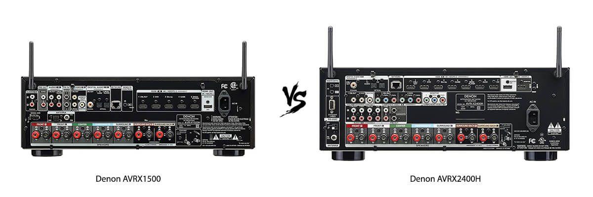 Denon AVR-X1500H vs AVR-X2400H Review [2019] - HelpToChoose