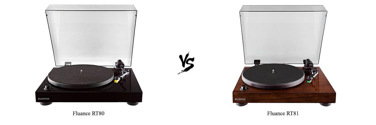 Fluance RT80 vs Fluance RT81