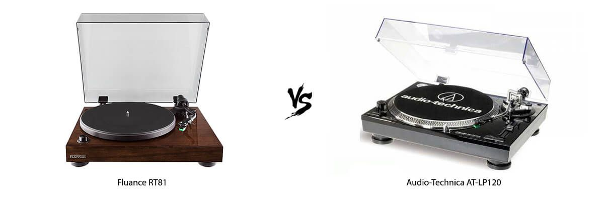 Fluance RT81 vs Audio-Technica AT-LP120