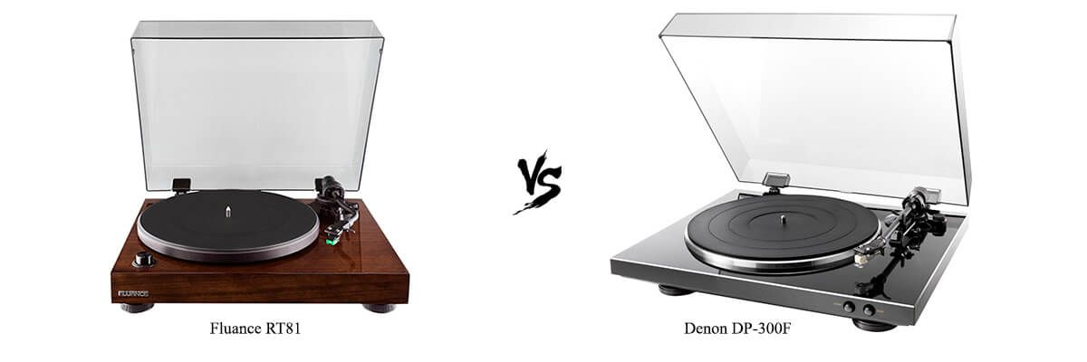 Fluance RT81 vs Denon DP-300F