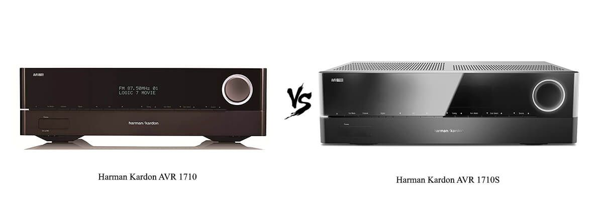 Harman Kardon AVR 1710 vs Harman Kardon AVR 1710S