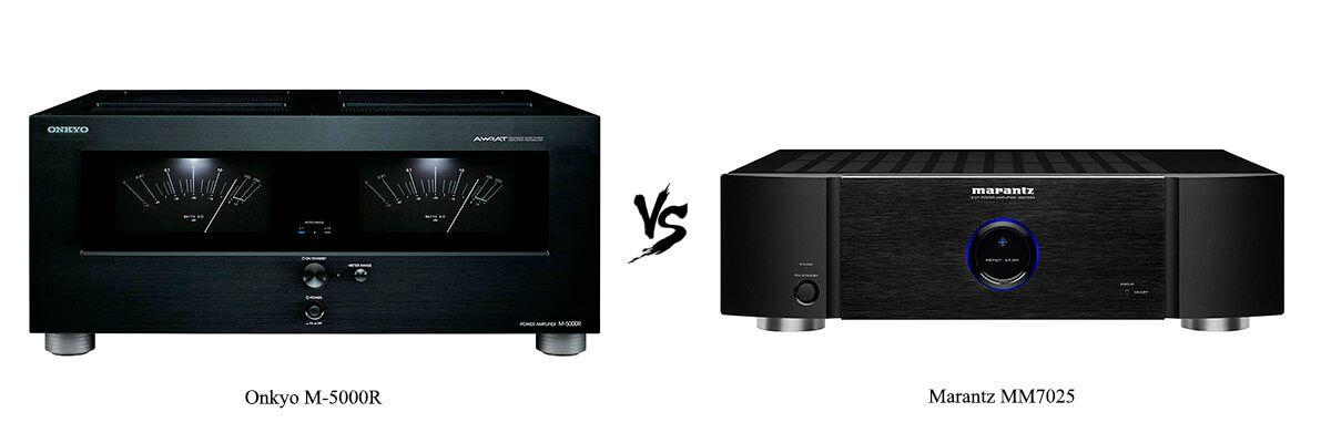 Onkyo M-5000R vs Marantz MM7025