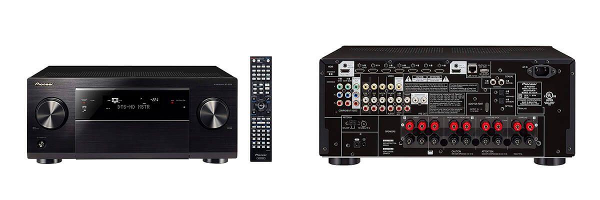 Pioneer SC-1223-K review & specs