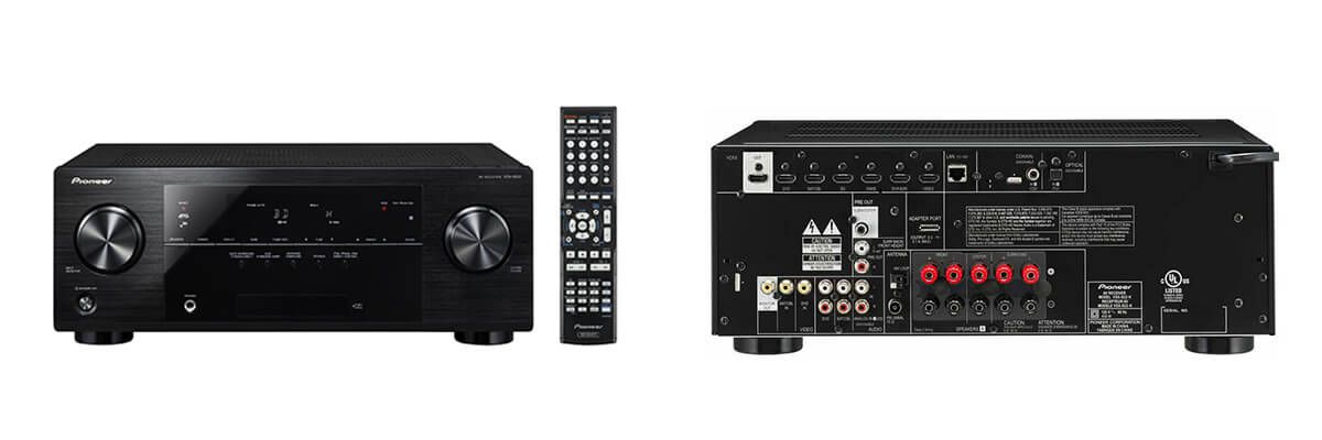 Pioneer VSX-822-K review & specs