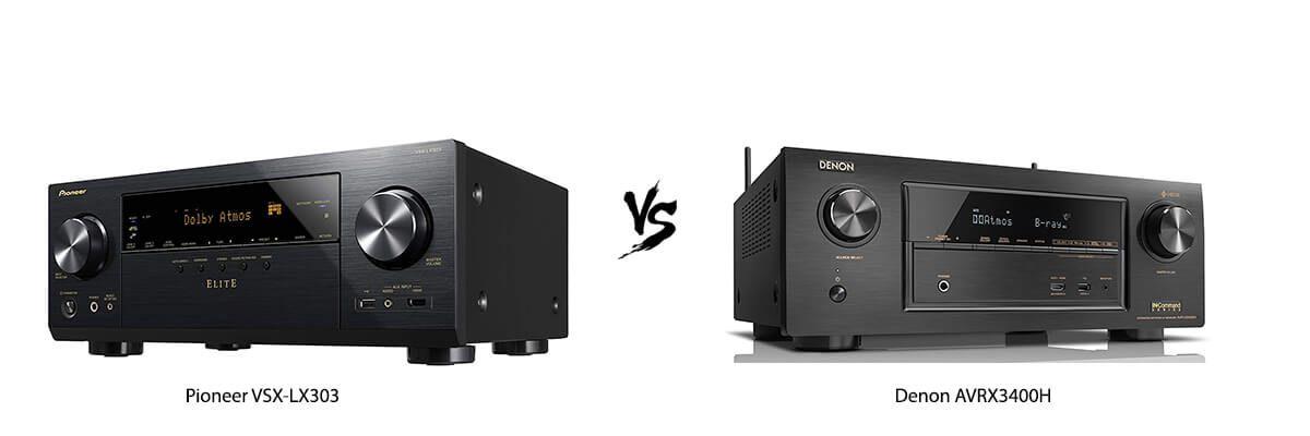 Pioneer VSX-LX303 vs Denon AVR-X3400H Review [2019