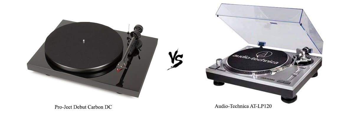 Pro-Ject Debut Carbon DC vs Audio-Technica AT-LP120