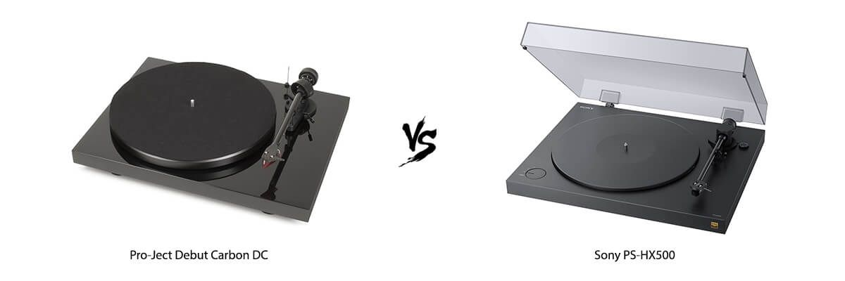 Pro-Ject Debut Carbon DC vs Sony PS-HX500