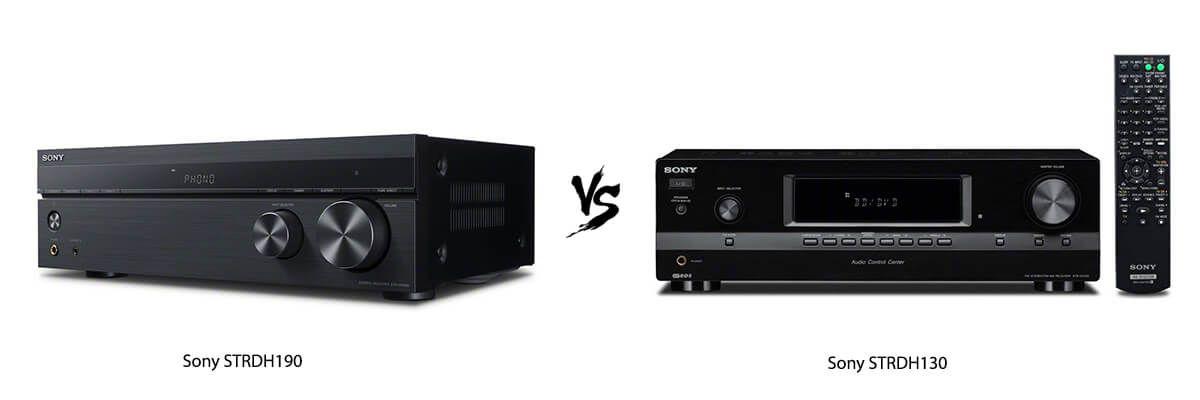 Sony STRDH190 vs Sony STRDH130