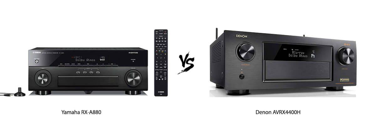 Yamaha RX-A880 vs Denon AVRX4400H