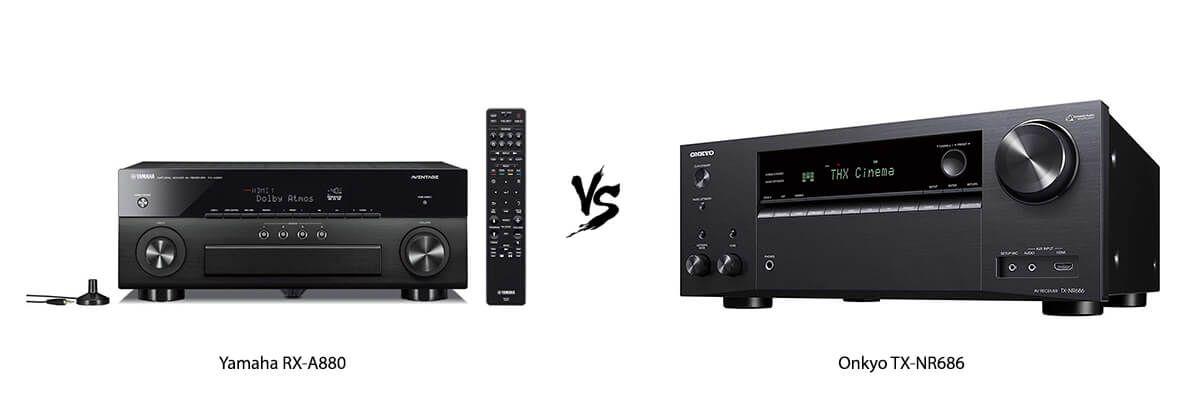 Yamaha RX-A880 vs Onkyo TX-NR686