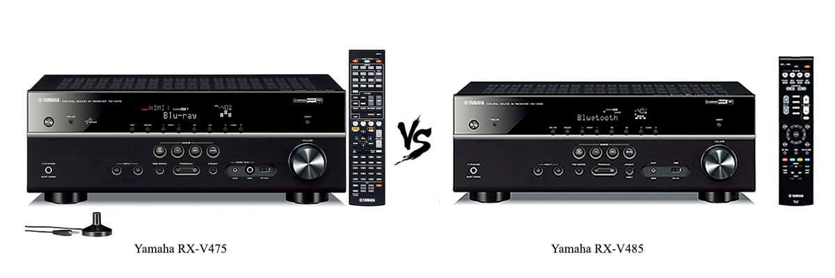 Yamaha RX-V475 vs Yamaha RX-V485
