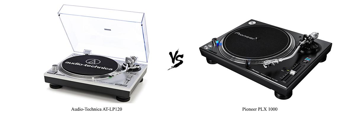Audio-Technica AT-LP120 vs Pioneer PLX 1000
