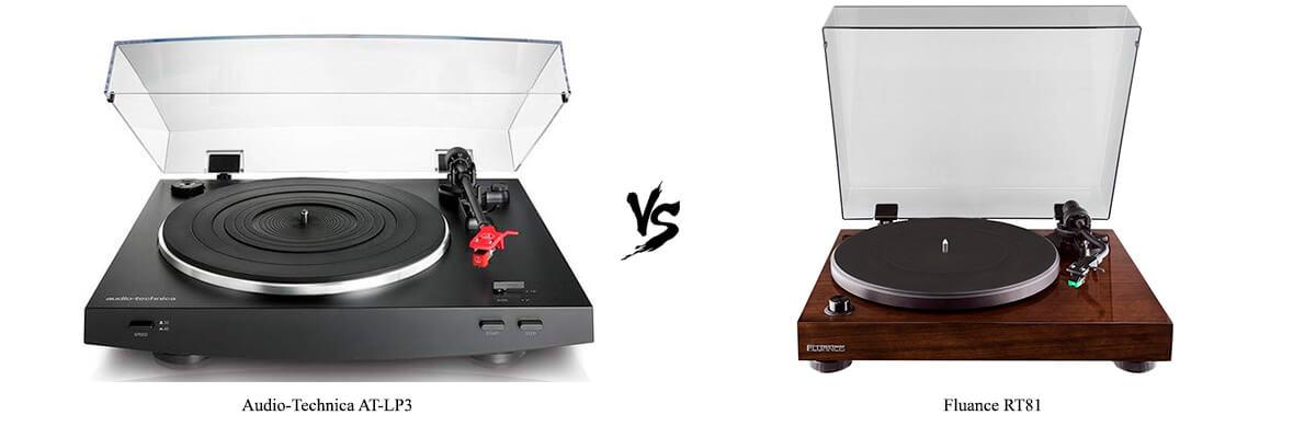 Audio-Technica AT-LP3 vs Fluance RT81