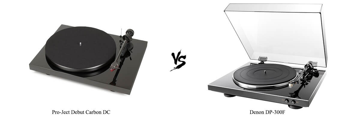 Pro-Ject Debut Carbon DC vs Denon DP-300F