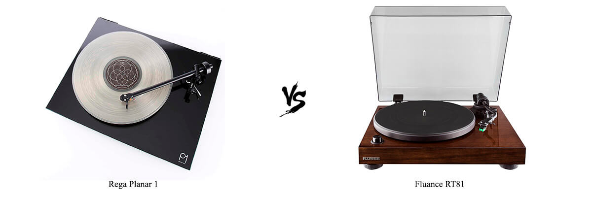 Rega Planar 1 vs Fluance RT81