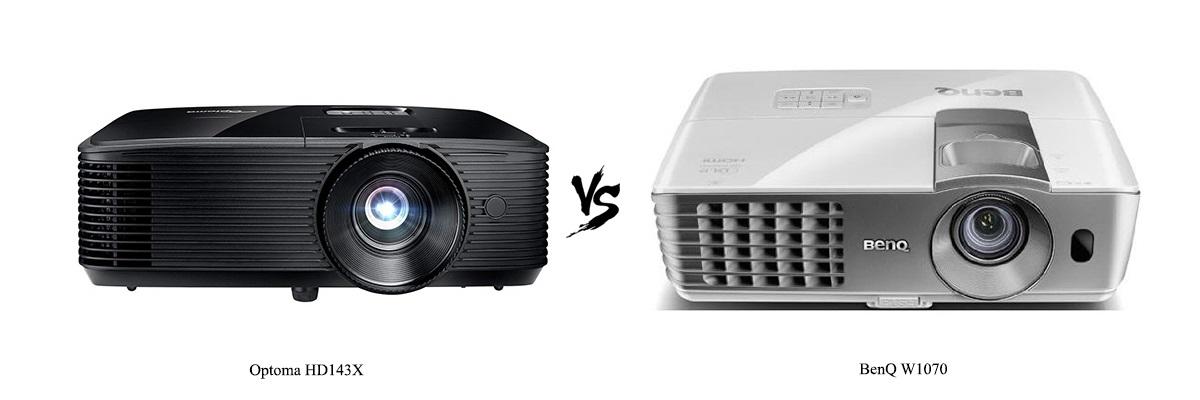 Optoma HD143X vs BenQ W1070
