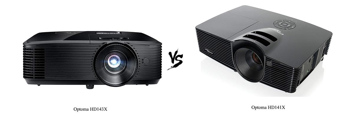 Optoma HD143X vs Optoma HD141X