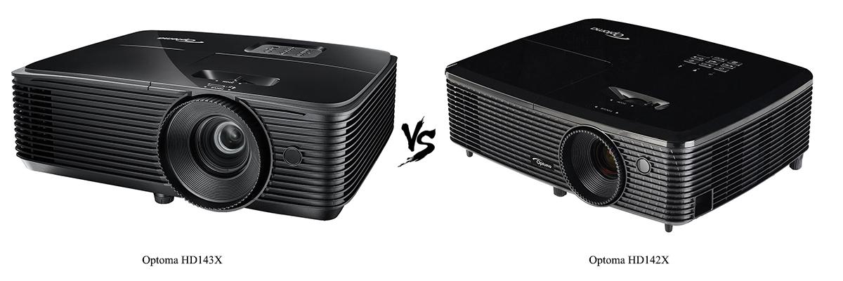 Optoma HD143X vs Optoma HD142X