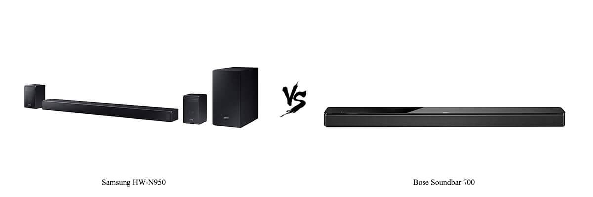 Samsung HW-N950 vs Bose Soundbar 700