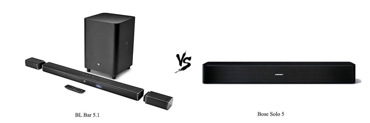 JBL Bar 5.1 vs Bose Solo 5