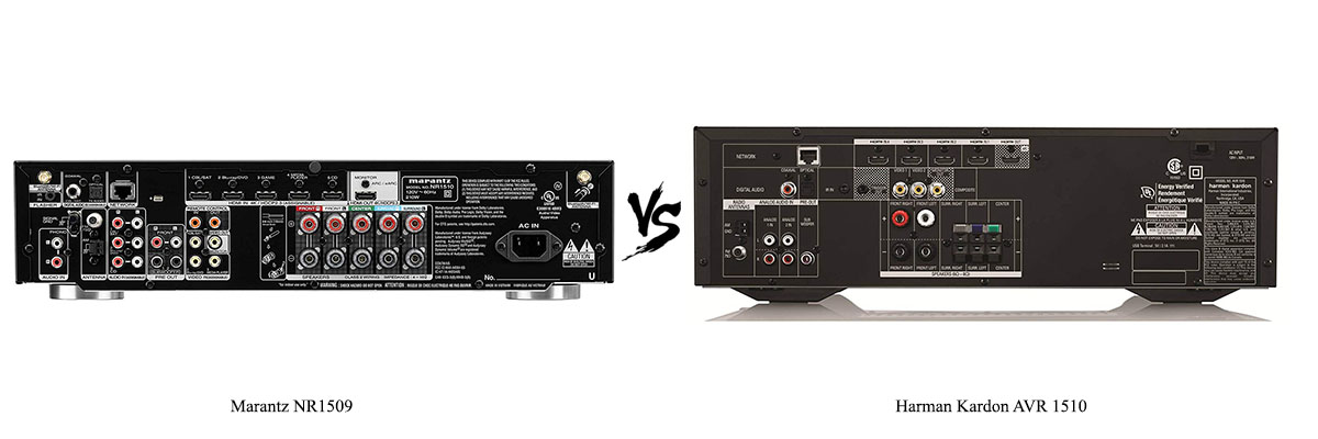 Harman Kardon AVR-1510 vs Marantz NR1509