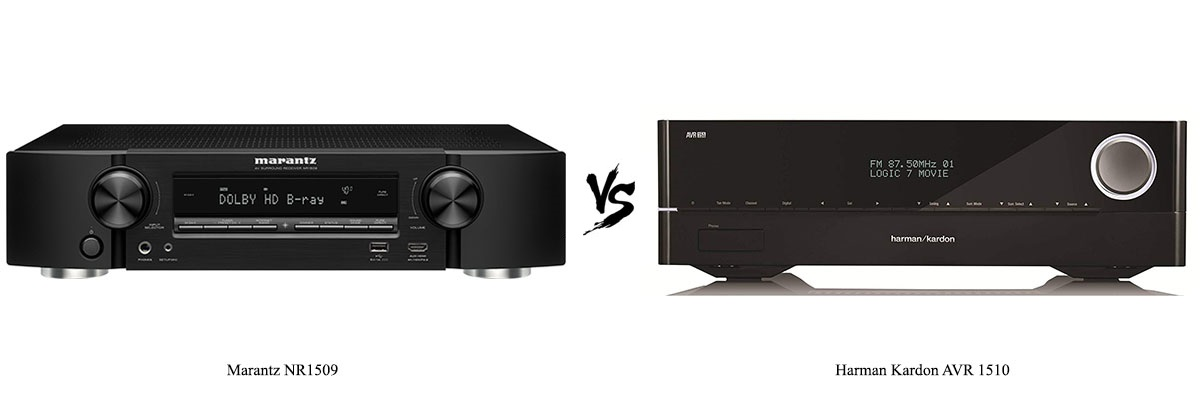 Marantz NR1509 vs Harman Kardon AVR-1510