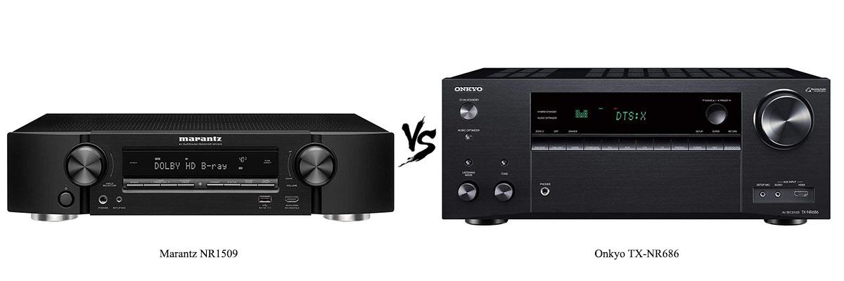 Marantz NR1509 vs Onkyo TX-NR686