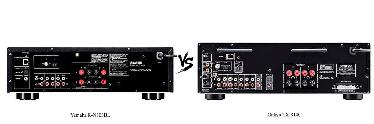 Onkyo TX-8140 vs Yamaha R-N303BL